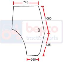 Geamuri  30/4038-9 Massey Ferguson 610